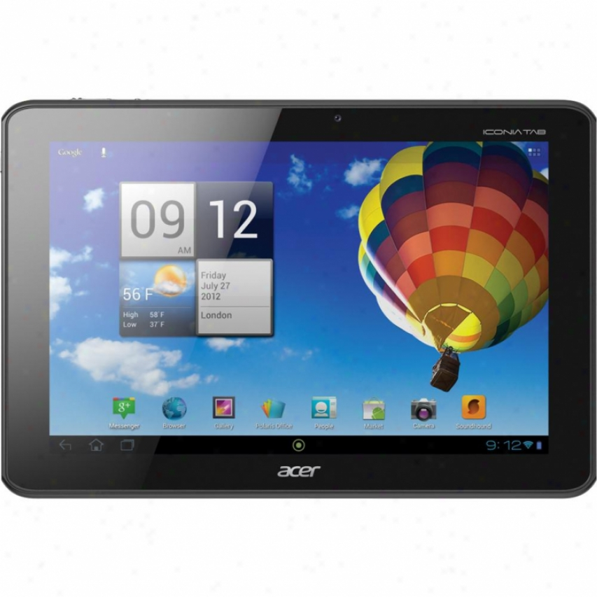 """Acer Computer Iconia Tab A510 Olympic Games Editiln 32gb 10.1"""" Tablet - Black"""