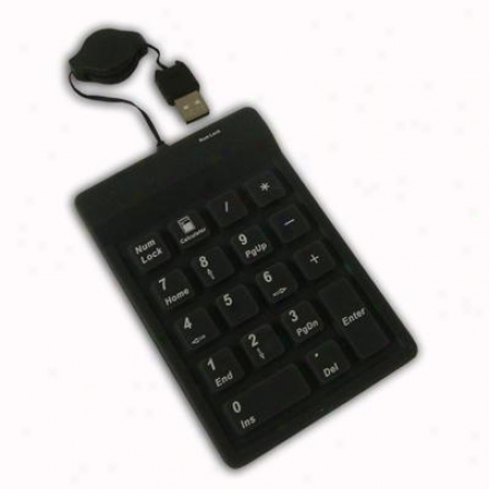 Adesso 18-key Waterproof Keypad