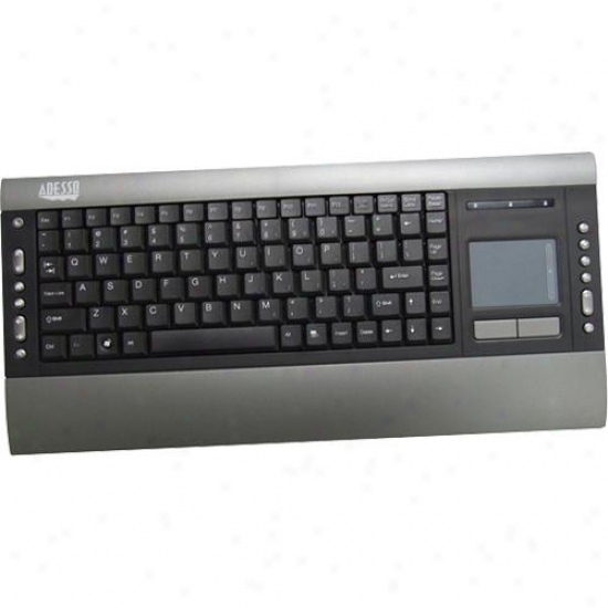 Adesso Akb-420ub Slimtouch Pro Usb Keyboard With Built-in Touchpad