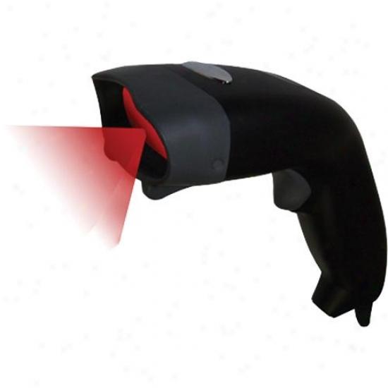 Adesso Nuscan 3200 Optical Laser Barcode Handheld Scanner - Usb