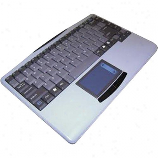 Adesso Wkb-4000us Slimtouch Wireless Mini Keyboard