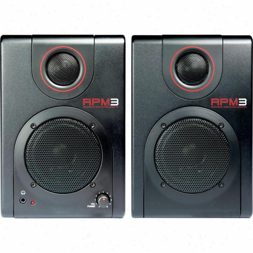 Akai Production Monitors With Usb Audio Interface Rpm3