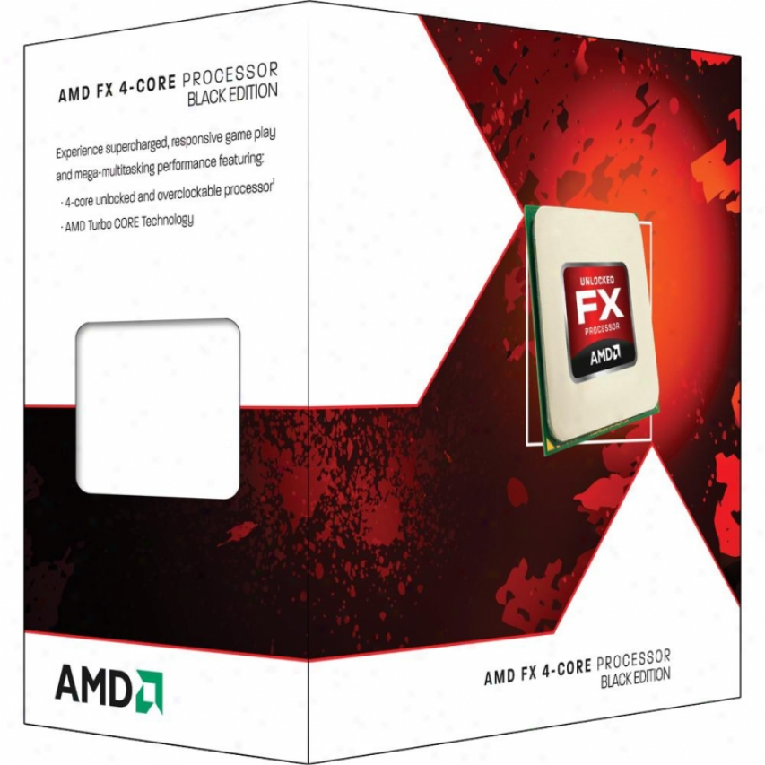 Amdd Fx-4100 Zambezi 3.6ghz Am3+ Quad-core Desktop Processor - Fd4100wmgusbx