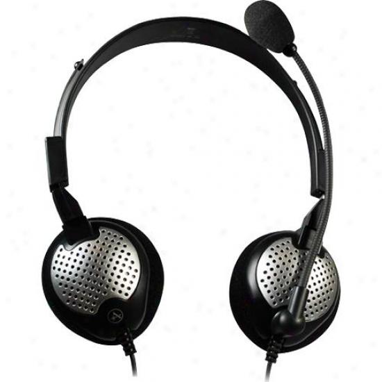 Andrea Electronics Nc-185vm Usb N/c Digital Stereo Headset