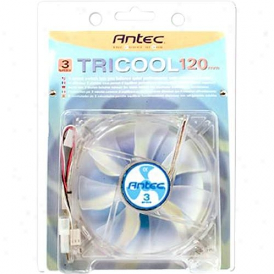 Antec 751200 Tri-cool 120mm, 3 Speed Cluu Fan
