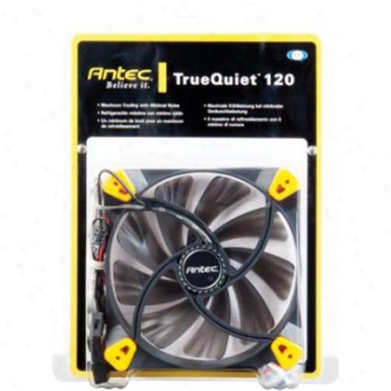 Antec Truequiet 120 120mm Fan For Pc Desktop
