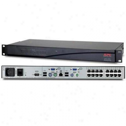 Apc 0x2x16 Cat5 Analog Kvm