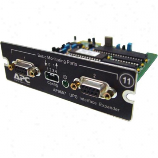 Apc 2 Port Serial Smartslot Card