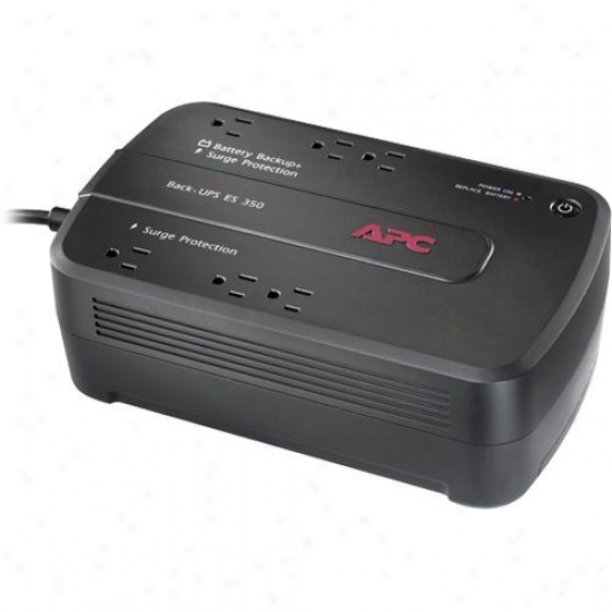 Apc Be350g Back-ups Es 6-outlet 350va 120vS Solicit Guardian & Power Supply
