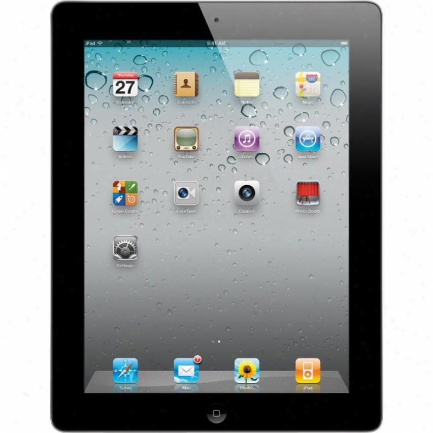 Apple 32gb Ipad 2 With Wi-fi - Black