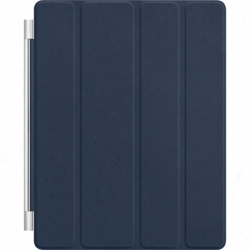 Apple Ipad Smart Cover Leather - Md303ll/a - Navy