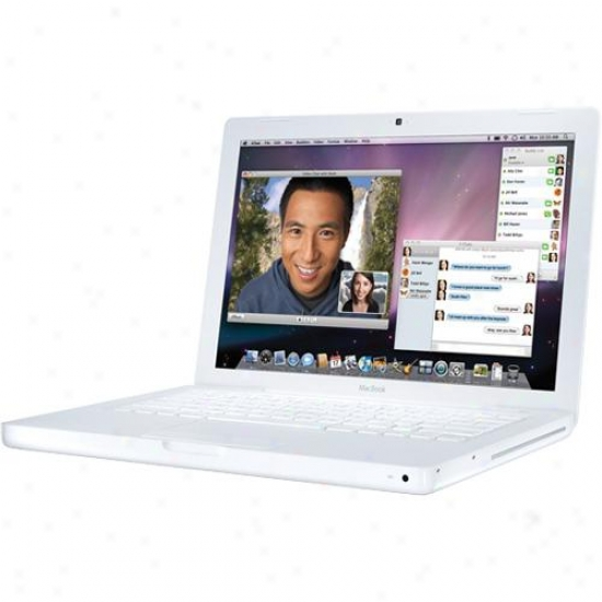"Apple Mb402ll/a 13.3"" Macbook - White - Refurbished"