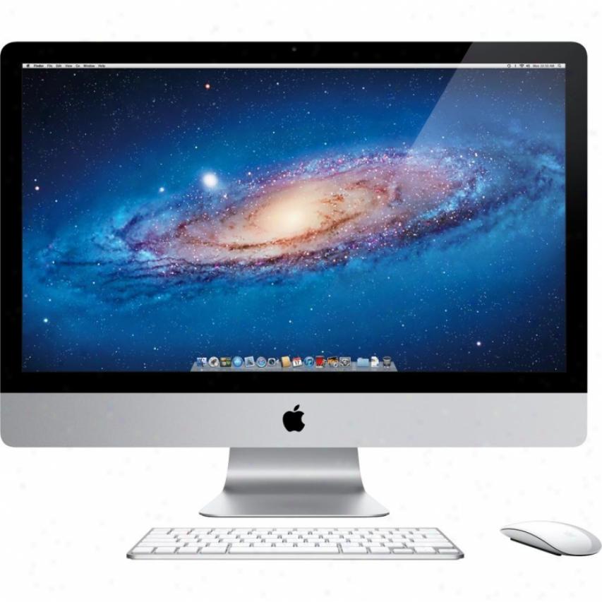 """Applle Td54654z Imac With 27"""" Led-backlit Lcd Display Desktop Computer"""