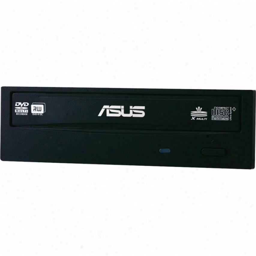 Asus Drw-24b3st/blk/g/as Internal 24x Cd/dvd Sata Drive - Black