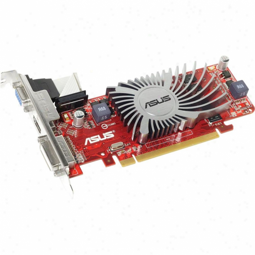Asus Eah6450 Silent/di/512md3(lp) Radeon Hd 6450 Pci Exprese 2.1 Video Car