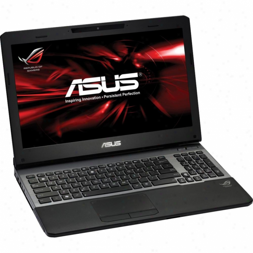 "Asus G55vw-ds71 15.6"" Gaming Notebook Pc - Black"