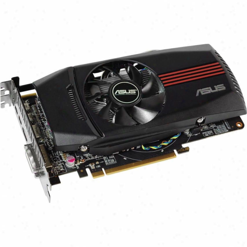 Asus Hd7770-dc-1gd5-v2 Radeno He 7770 1gb Gddr5 Pci Express 3.0 X16 Video Card
