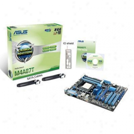 Asus M4a87t Evo Amd Am3 Mtherbrd