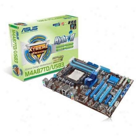 Asus M4a87td/ush3 Am3 Amd 870 Atx Amd Motherboard