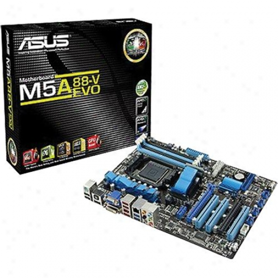 Asus M5a88-v Evo Am3+ Amd 880g Atx Motherbord
