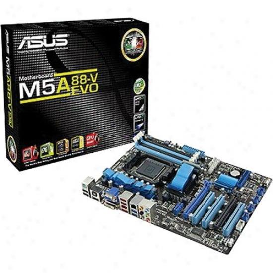 Asus M5a88-v Evo Am3+ Amd 880g Atx Motherbord