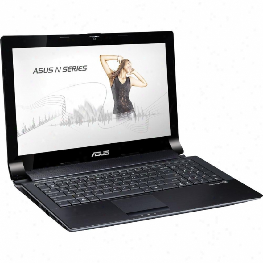 "Asus N53smds71 15.6"" Notebook Pc - Silvre Aluminum"