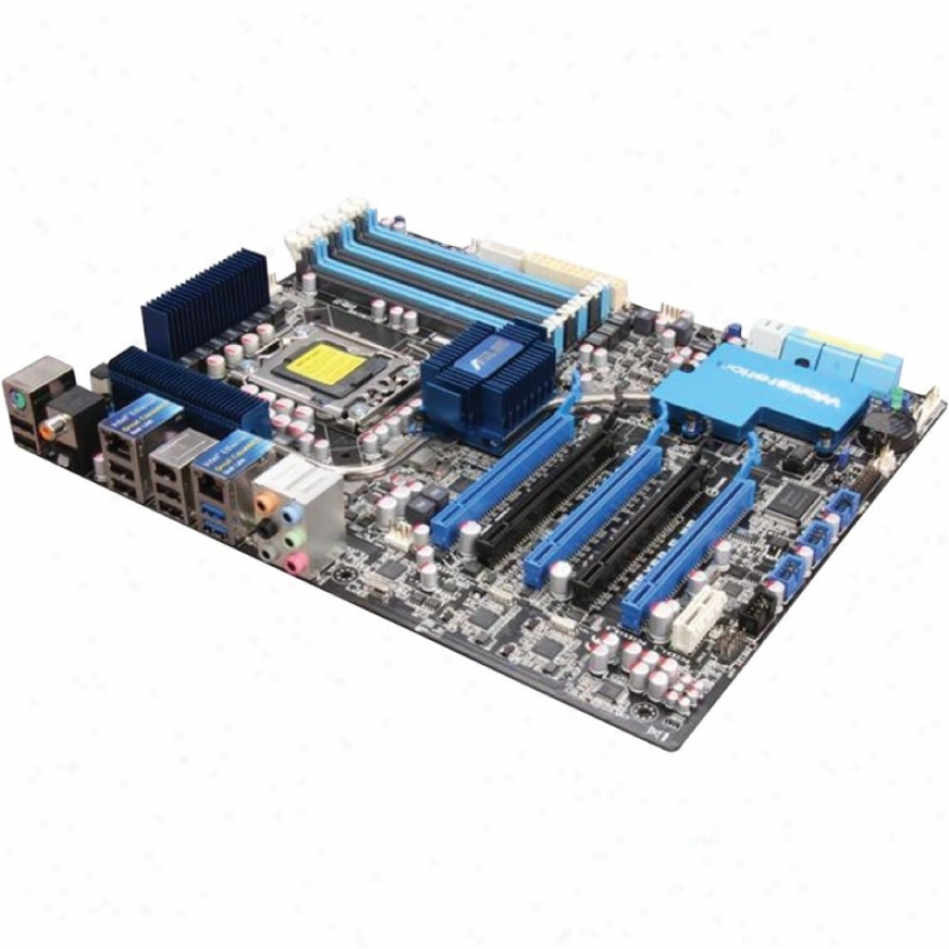 Asus P6x58-e Ws Intel X58 Nvidia Nf200 Work Station Intep Atx Motherboard