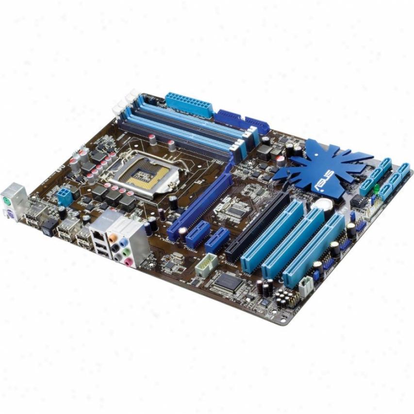 Asus P7p55 Lx Lga 1156 Intel P55 Atx Desktop Motherboaard