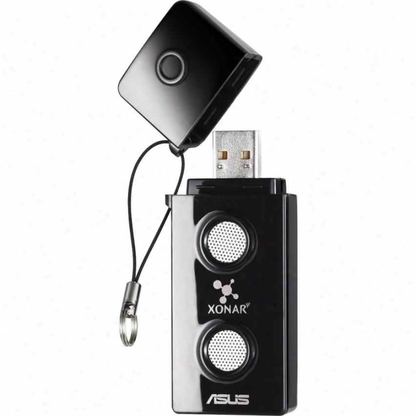Asus Xonar U3 Mobile Usb Soundcard With Headpphone Amp