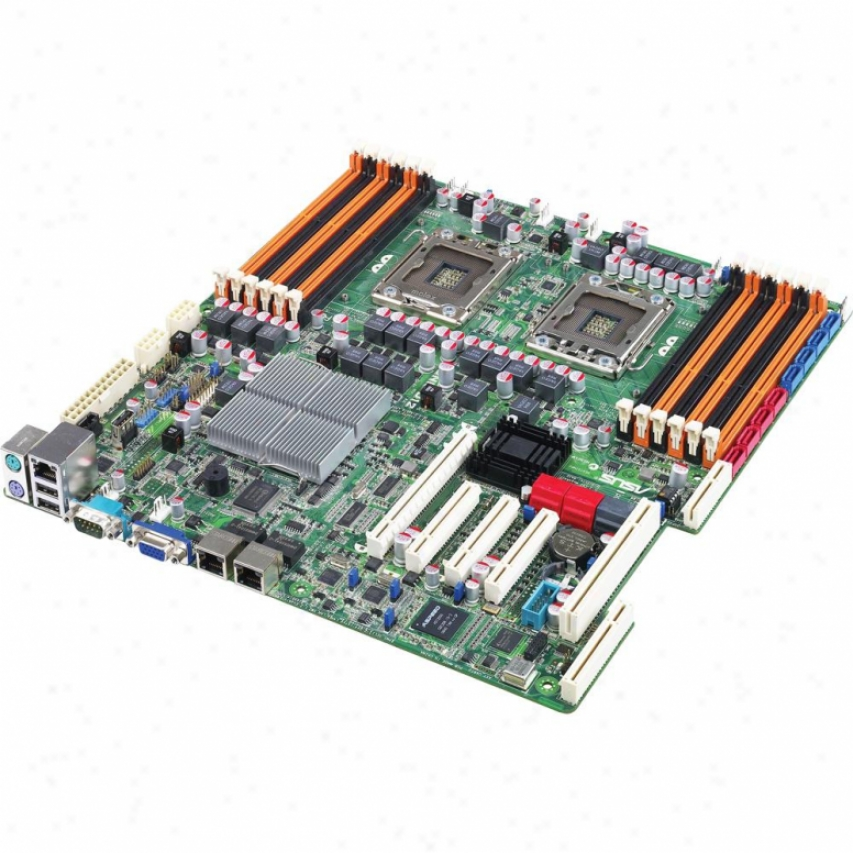 Asus Z8nr-d12 Dual Lga 1366 Intel 5500 Server Motherboard