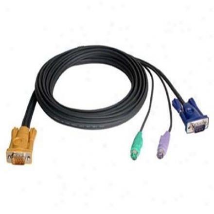Aten Corp 10' Sphd15-hd15/mini Din Cable
