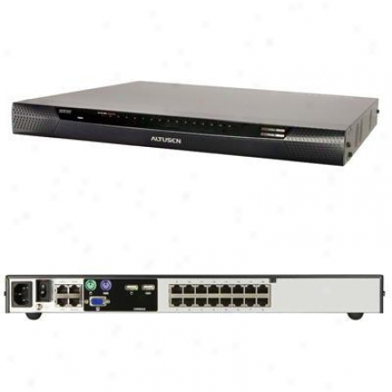 Aten Corp 16-port Kvm Over The Net Switch Kn2116a