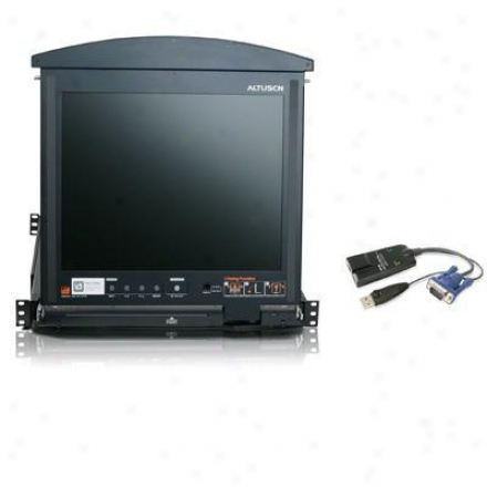 "Aten Corp 17"" 16-port Cat5 Lcd Kvm Switc"