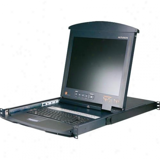 """Aten Corp 17"""" Lcd With Ip Over The Net Kl9116m"""
