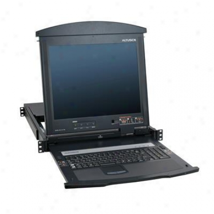 """Aten Corp 17"""" Rack Muontable Lcd Console"""