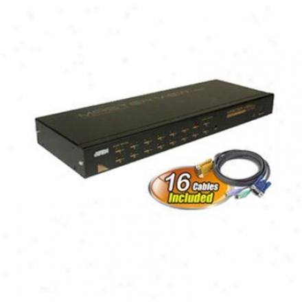 Atwn Corp 1u Maxiport 16p Kvm Switch