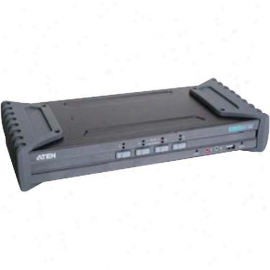 Aten Corp 4-port Dvi Dual Link Kvm