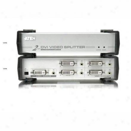 Aten Corp 4 Port Dvi Video Splitter