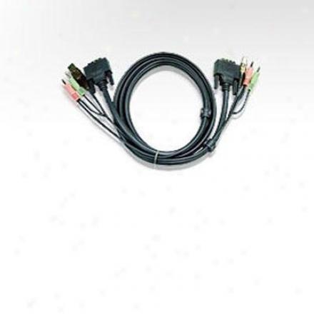 Aten Corp 6' Dual Link Dvi Cabl