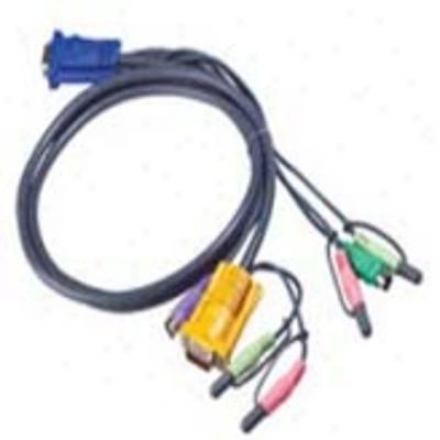 Aten Corp 6' Ps2/kvm Cable oFr Cs1758