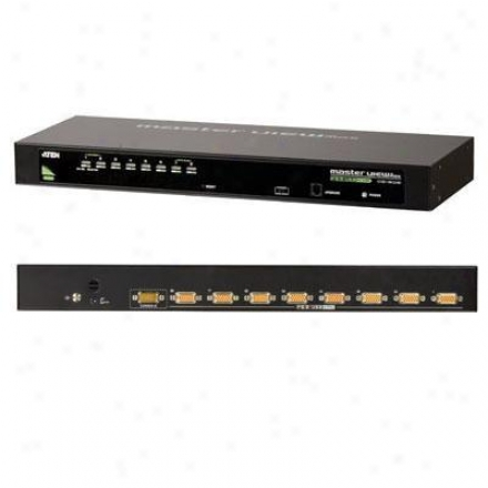 Aten Corp 8 P Uxb/ps2 Combo Kvm Switch