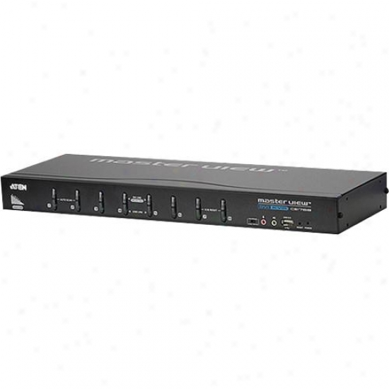 Aten Corp 8-port Dvi vKm Switch
