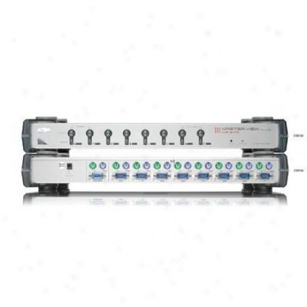 Aten Corp 8 Demeanor Kvm Plus W/osd W/120v