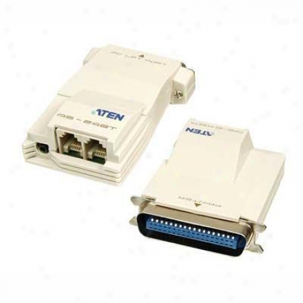Aten Corp Flash/net Parallel Printer Tra