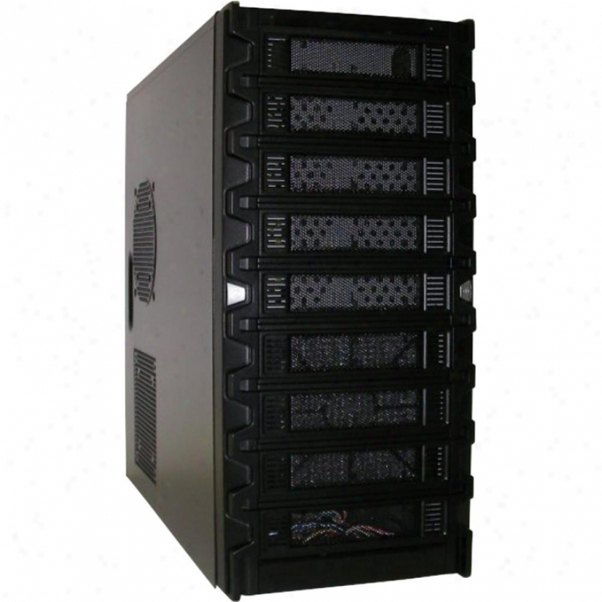 Atbenatech Black Mid-tower