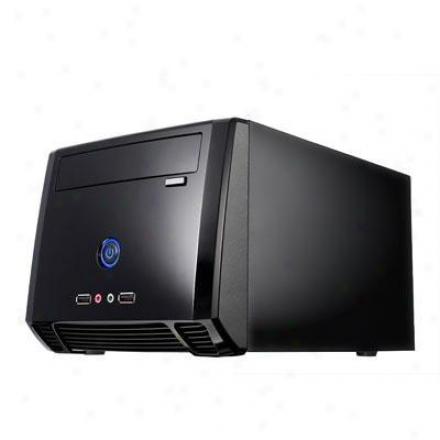 Athenatech Mini Itx Tower Glossy Black