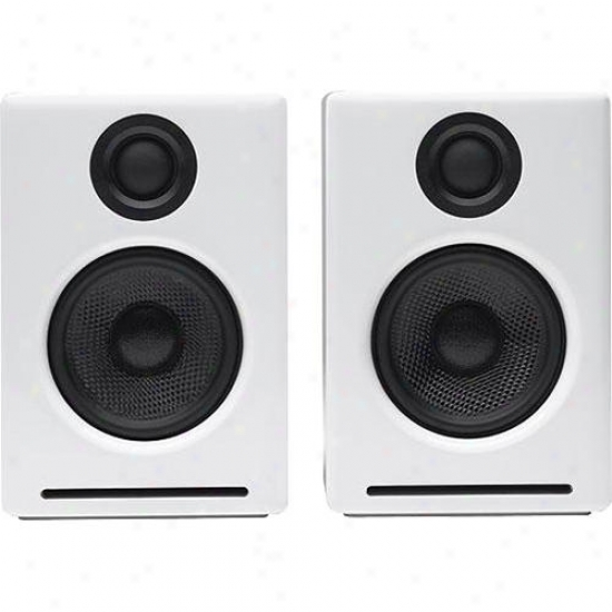 Audioengine A2w Powered Multimedia Discourser System - White Finish