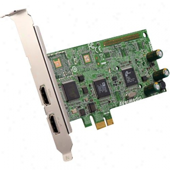 Avermedia Avertv Hd Dvr Pdi Express Video Capture Card