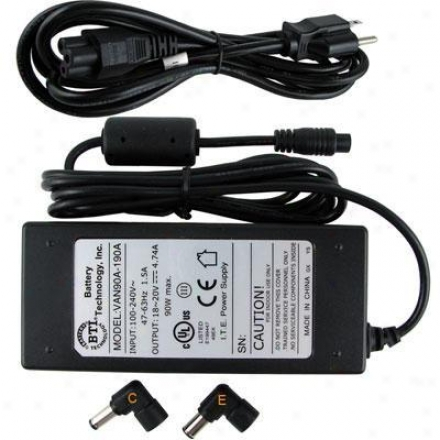 Battery Technologies 90w Ac Adapter For Toughbook