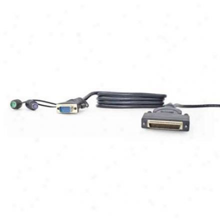 Belkin 6' Dual-port Kvm Cable Ps/Z